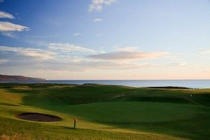 The fabulous view from Brora Golf Course