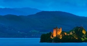 Experience Urquhart Castle from one of Robert the Bruce's archers